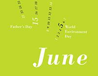 Bodoni Calendar