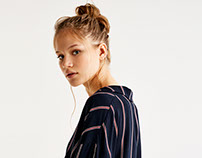 Navy stripes F/W 2017 Pull and Bear