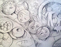 Sketches about the family