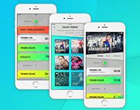 2017: Socialfit - fitness social app