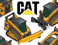 CAT Poster / Skid Steer // Track Loader