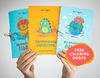 Free coloring books for the families in lockdown