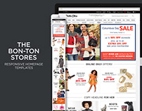 The Bon-Ton Stores Web Design