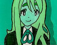 Mugi-Chan Mini Canvas