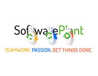 SoftwarePlant logo reveal animation