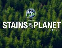 Top Terra Detergente - Removiendo Manchas del Planeta.