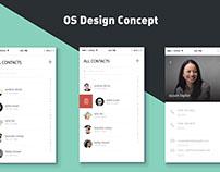 OS design Concept