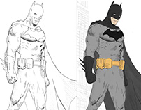 Batman day drawing