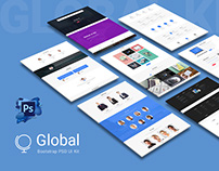 Global Bootstrap Multipurpose PSD UI Kit