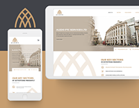 ALEDO Website Design