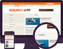 Research Magazine Site