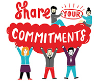 Share your Commitments Sign / Vodafone Ireland