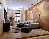 Modern Living area design