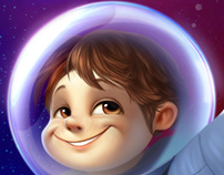 A rocketboy for Supradyn Kids
