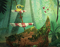 Jungle, Ahoy!: Visual Development