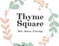 Thyme Square Alternative Branding