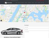 Find Us Page - Mechanic WordPress Theme