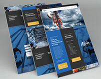 Website for industrial rope access company-Alpin Group