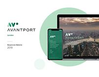 Avantport - Corporate Website