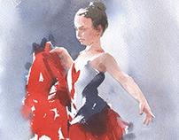 Ballet class V