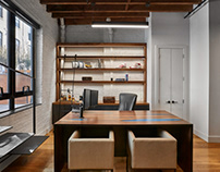 Very interesting ideas for private offices.