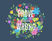 PROVE THEM WRONG - Wallpaper