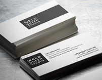 "Branding ""Weld Queen Studio"" Business Card"