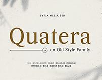 Quatera Serif Family