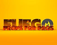 Fuego Logo Ident – Props Company