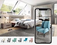 STOLPLIT - мобильный каталог мебели AR+