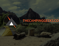 The camping geeks logo