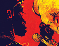 Nu Jazz Flow: Festival/Venue Posters