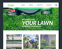 Aflah Damai Website Design