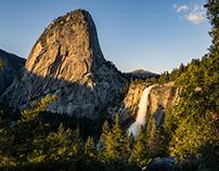 Width. Depth. Height. Yosemite Valley, CA