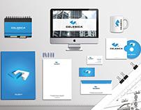 Celebica Construction Company Identity Design