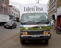 Eden Tea (Mitsubishi FH Truck Branding)