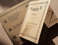 Бренд VASILISA V / Дизайнерская разработка брендинга