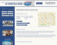 Galpin Ford : Responsive Website Design