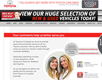 Toyota of Carlsbad Review Page