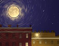 Short illustration | moonlight
