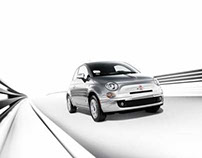 Fiat 500 CGI and Photography