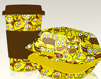 YELLOW MONSTERS© - Tableware - Servies - Bone China