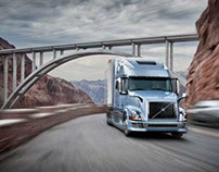 Volvo Truck Photography