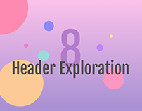 Multiple header explorations