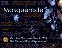 Masquerade Exhibition Postcard
