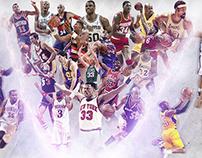 NBA Legends design