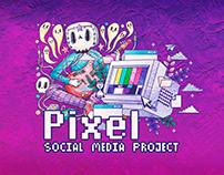PIXEL social media project