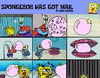 SpongeBob has got mail!