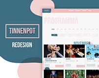 Tinnenpot Theater Redesign