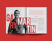 Revista Amarilo - Editorial Design